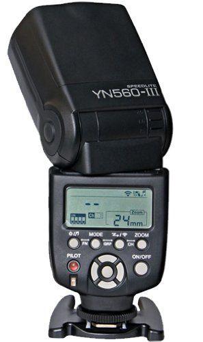 YongNuo YN-560 III display