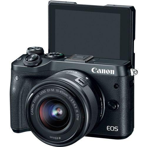 canon eos m50 screen up