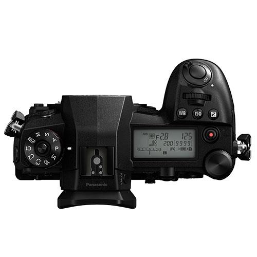 Panasonic Lumix G9 top view