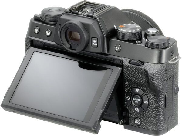 Fujifilm X-T100 with tilted screen
