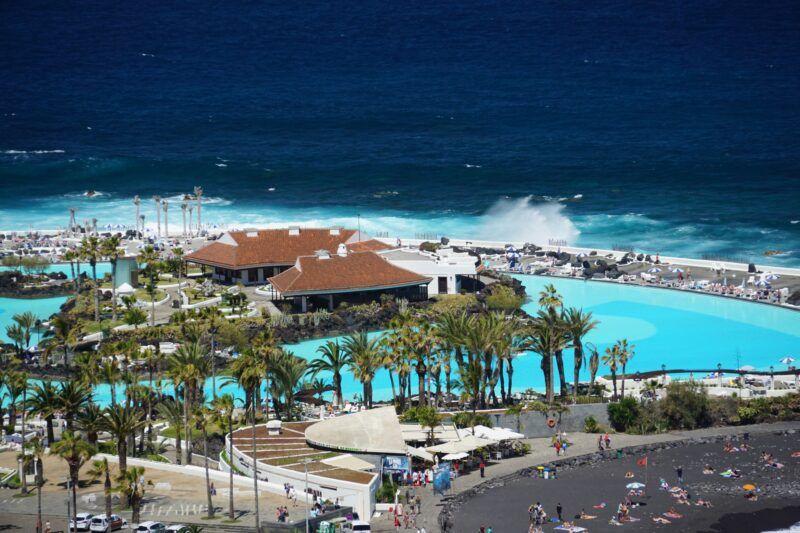 Puerto de la Cruz swim pool