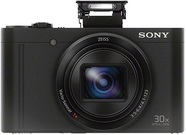 Sony WX500 flash