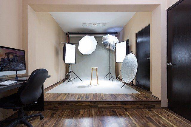 flash studio photography