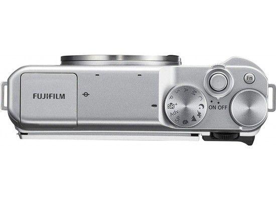 Fujifilm X-A10 top view