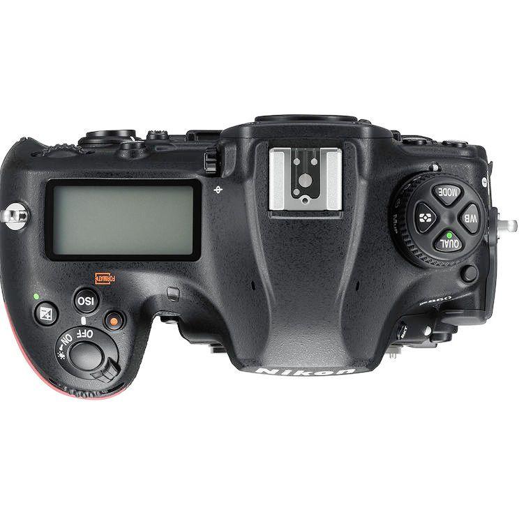 Nikon D850 top view