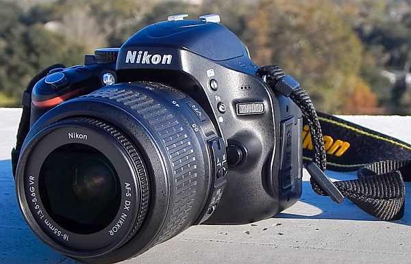 Nikon D5100 camera overview