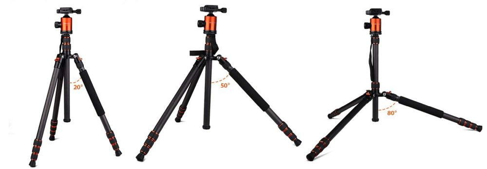 Geekoto CT25Pro leg angles