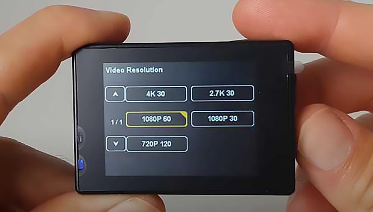 Campark X5 4k video