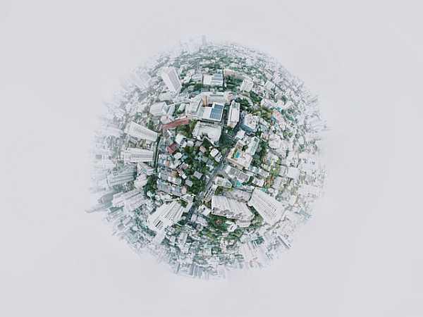 Composite cityscape