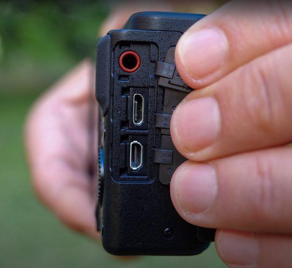 Sony Vlog Camera ZV1 ports
