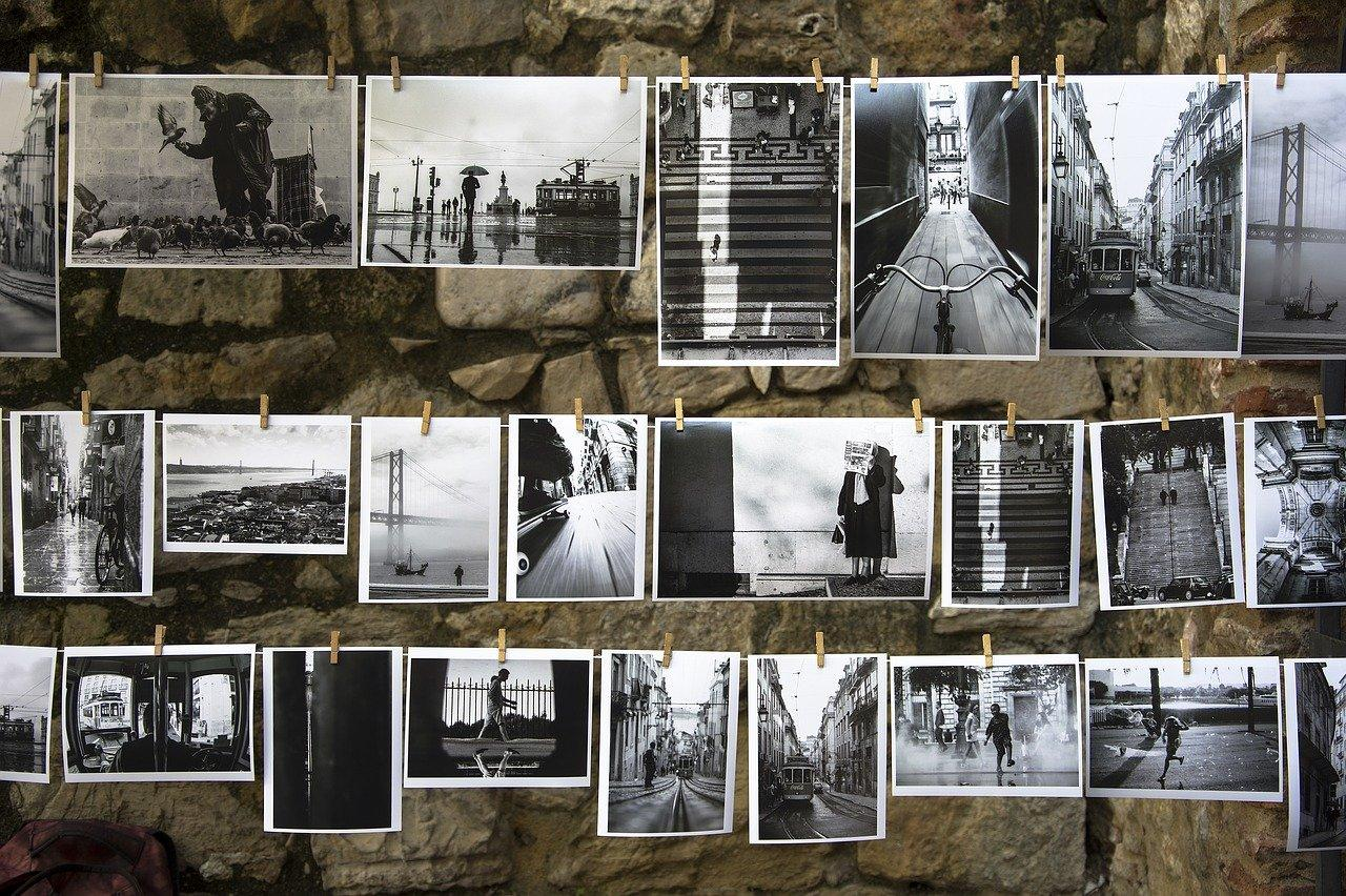 Dry photos after developing