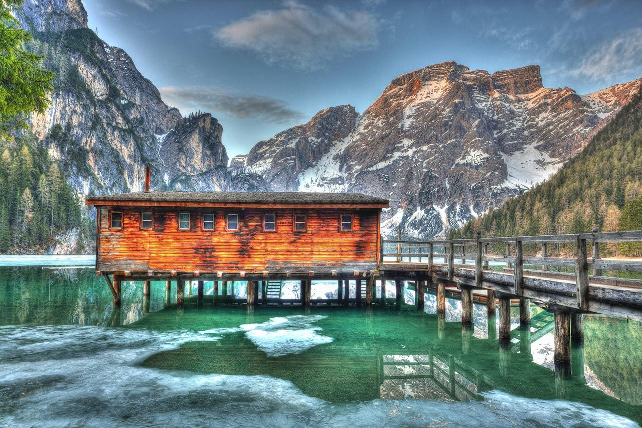 HDR scenery in the mountains