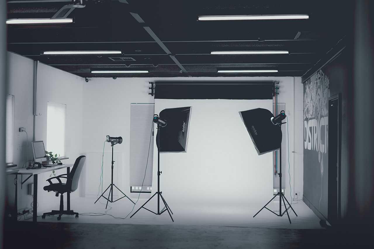 Indoor photo studio