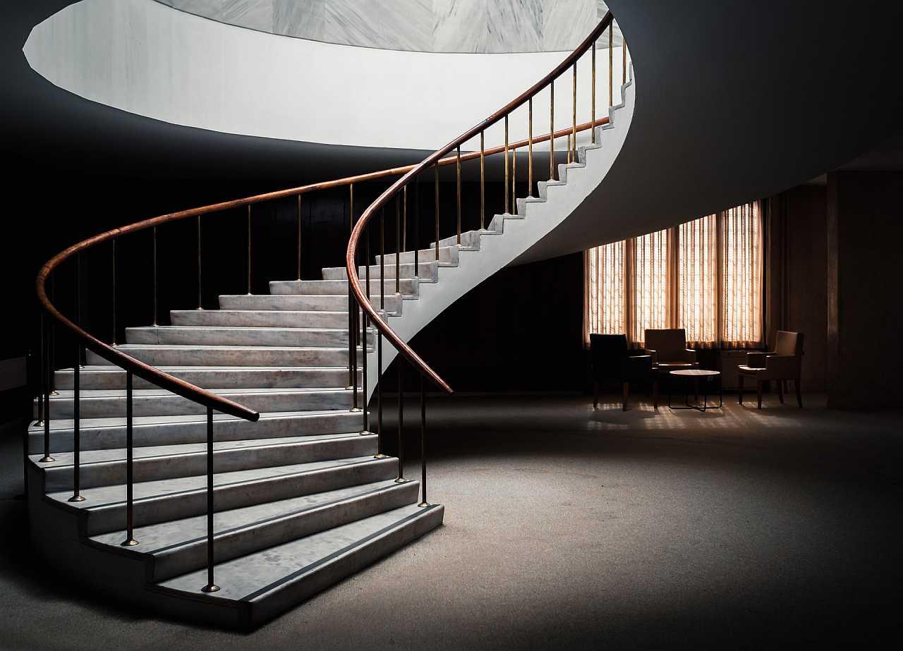 Indoor stairs