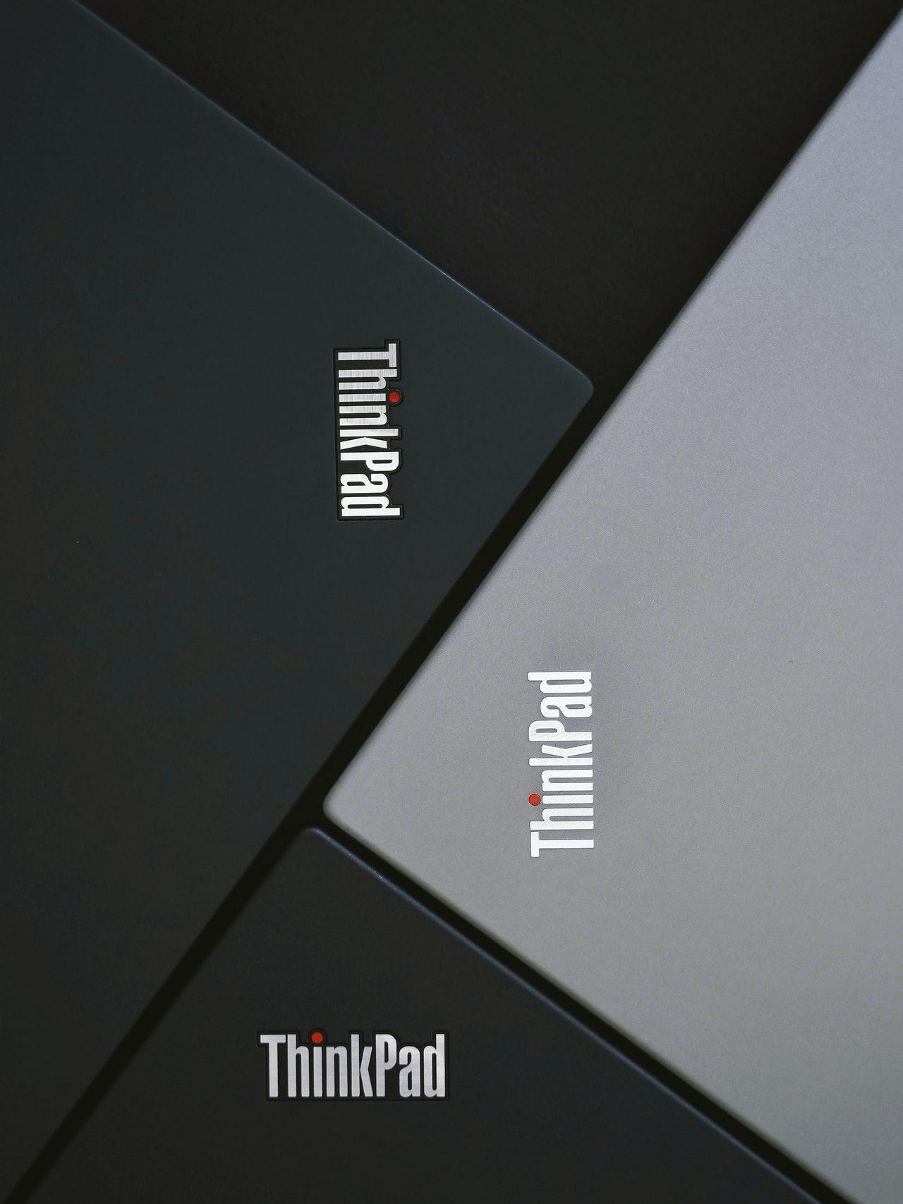 Thinkpad product photography